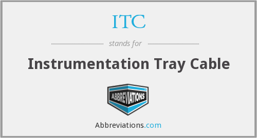 ITC - Instrumentation Tray Cable