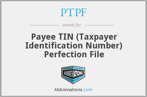 What does PTPF stand for?