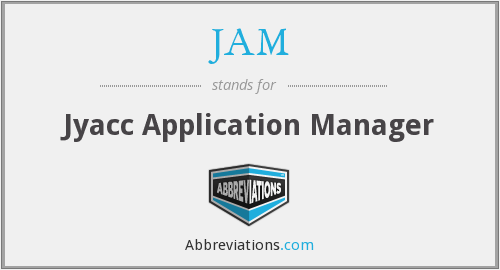JAM - Jyacc Application Manager