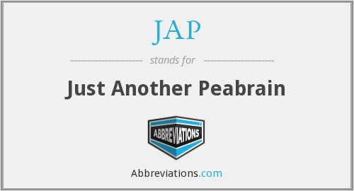 JAP - Just Another Peabrain