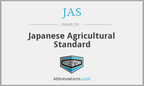 What does JAS stand for?