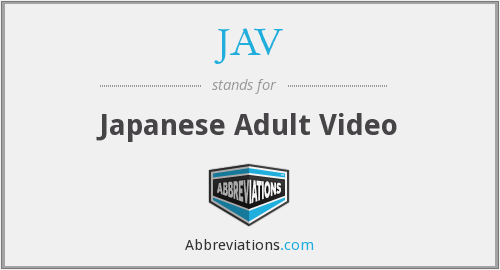 JAV - Japanese Adult Video