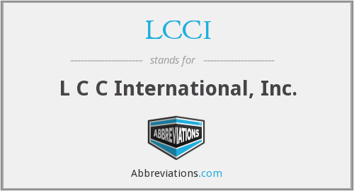 What does LCCI stand for?