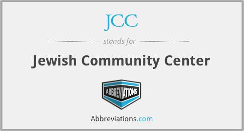 JCC - Jewish Community Center