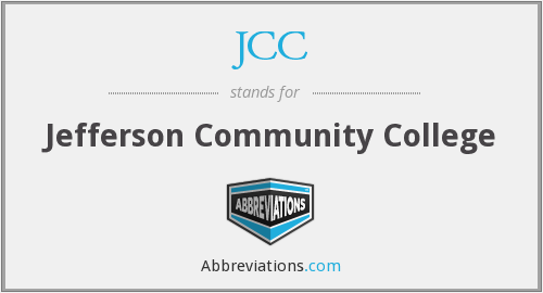 JCC - Jefferson Community College