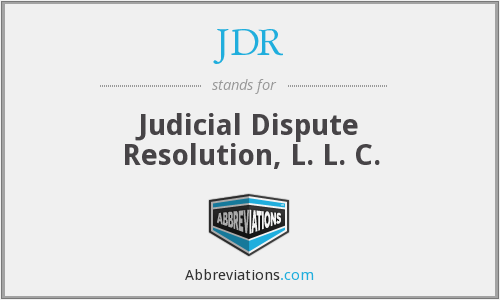 JDR - Judicial Dispute Resolution, L. L. C.