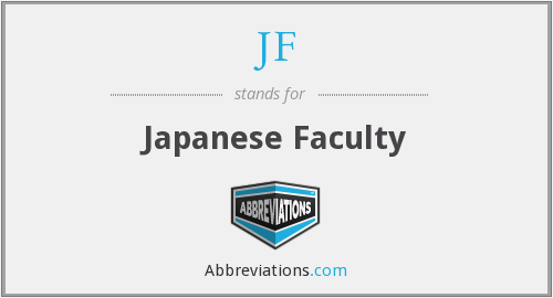 JF - Japanese Faculty