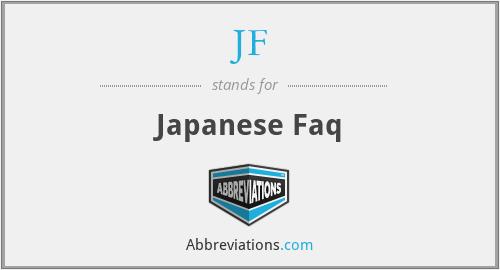 JF - Japanese Faq