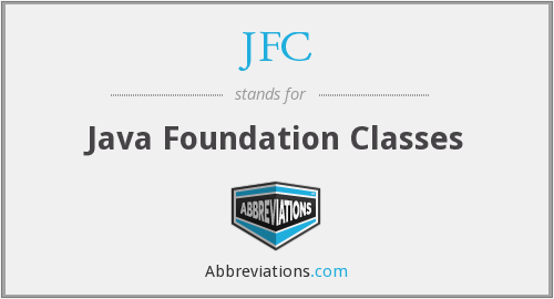 What does JFC stand for?