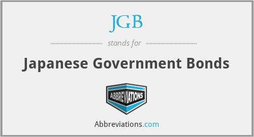 JGB - Japanese Government Bonds