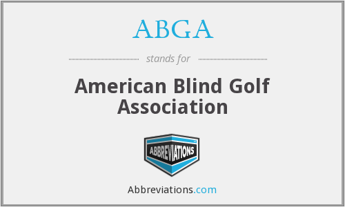 ABGA - American Blind Golf Association