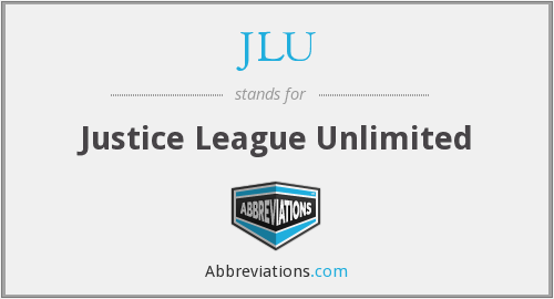 What does JLU stand for?