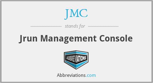 JMC - Jrun Management Console