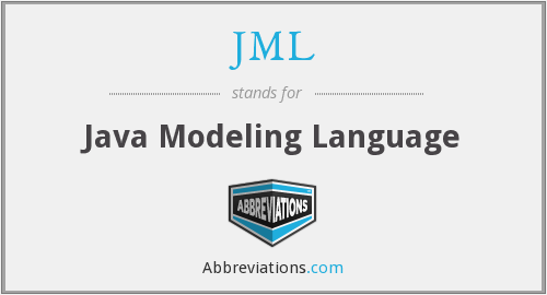 What does JML stand for?
