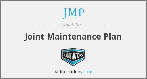 JMP - Joint Maintenance Plan