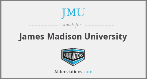 What does JMU stand for?