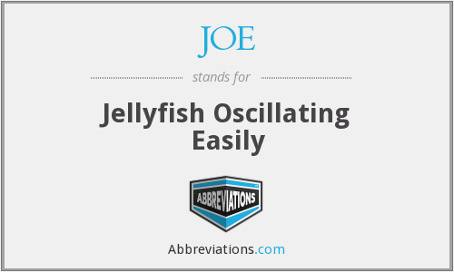 JOE - Jellyfish Oscillating Easily