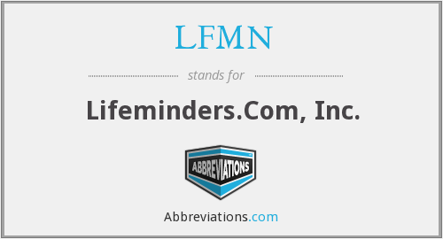 What does LFMN stand for?