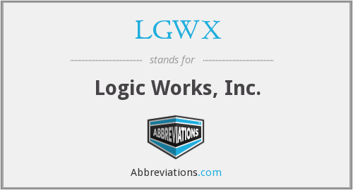 What does LGWX stand for?