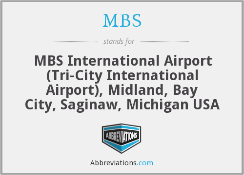 MBS - MBS International Airport (Tri-City International Airport), Midland, Bay City, Saginaw, Michigan USA