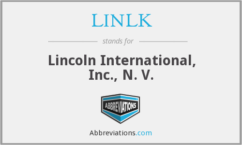 What does LINLK stand for?