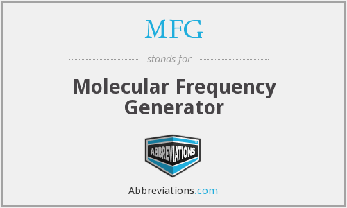 MFG - Molecular Frequency Generator