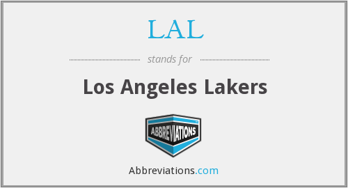 What does LAL stand for?