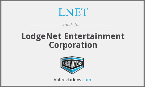 What does LNET stand for?