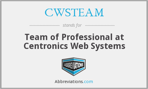What does CWSTEAM stand for?