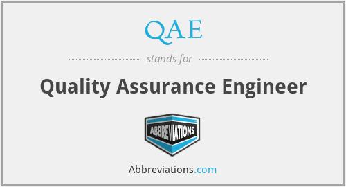 QAE - Quality Assurance Engineer