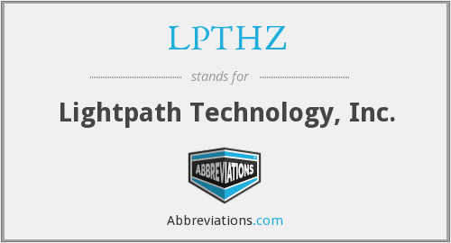What does LPTHZ stand for?