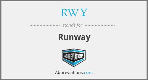 RWY - Runway
