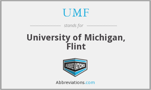 UMF - University of Michigan, Flint