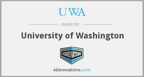 What does UWA stand for?