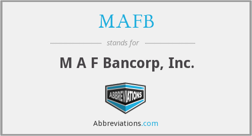 What does MAFB stand for?