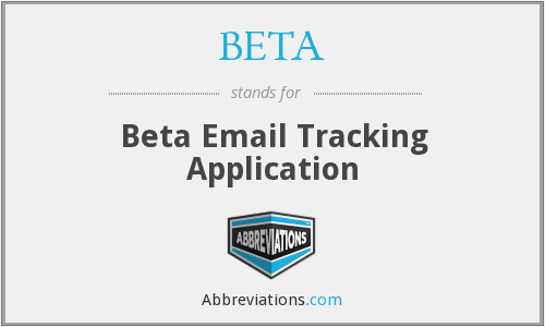 BETA - Beta Email Tracking Application