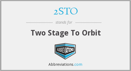 What does 2STO stand for?