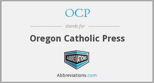 OCP - Oregon Catholic Press
