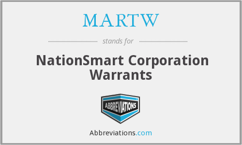 What does MARTW stand for?