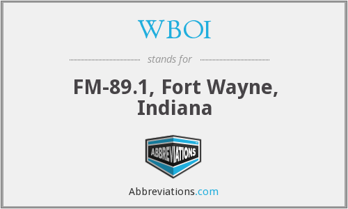 What does WBOI stand for?