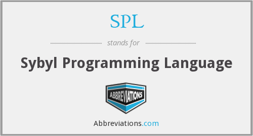 SPL - Sybyl Programming Language
