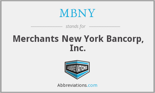 What does MBNY stand for?