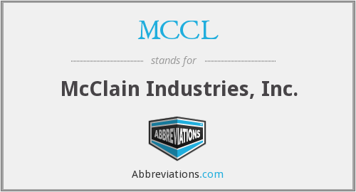 What does MCCL stand for?