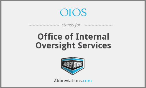 OIOS - Office of Internal Oversight Services