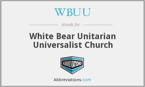 What does WBUU stand for?
