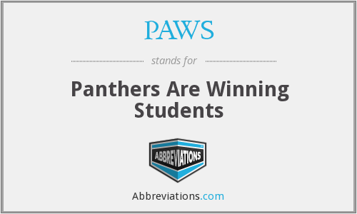 PAWS - Panthers Are Winning Students