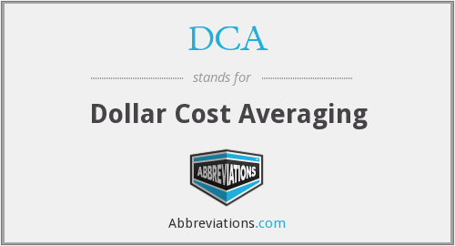 DCA - Dollar Cost Averaging
