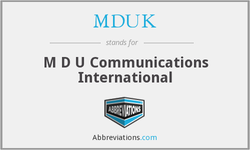 What does MDTV stand for?
