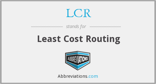 What does LCR stand for?