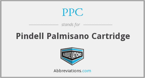 PPC - Pindell Palmisano Cartridge